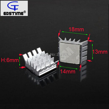 10PCS Gdstime Computer for Xbox360 PS VGA Graphics Card DDR RAM Video Memory Cooling Cooler Aluminum Heatsink(China)