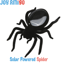 Solar Powered Spider Robot - Funny Gag Toy Shaking Prank Practical Inset Time Killing Toy For Pets Friends Freeshipping