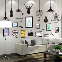 Buy 3D solid wall sticker creative background wall Poster Sticker wall self-adhesive decorative painting bedroom warm wallpaper big for $12.99 in AliExpress store