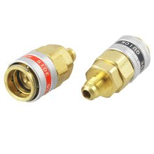 Car A/C R134a Quick Coupler Adapter Automotive High Low Side Tool(China)