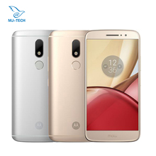Motorola Moto M XT1662 4G LTE 5.5'' 16.0MP Octa core 4G 32G Dual SIM Fingerprint Smartphone Mobile phone(China)
