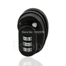 OOTDTY New High Quality Metal Black 1Pc 3-Dial Gun Key Trigger Password Lock For Firearms Pistol Rifle(China)