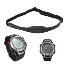 High quality Waterproof Sport  Watch Heart Rate Monitor With Wireless Chest Strap Belt