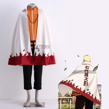 Athemis Uzumaki Naruto Cosplay Costume Cloak(China)