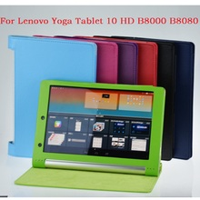 Litchi Series Lenovo YOGA B8000 B8080 B8080-f B8080-H B8080-X Case PU Leather Case For Lenovo YOGA Tablet 10 HD+10.1 tablet pc