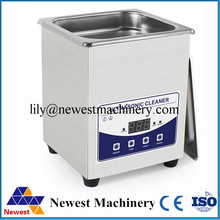 Ultrasonic jewelry cleaning machine / mini ultrasonic cleaner 2L with heat and time setting