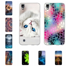 For LG X Power Case Soft TPU Shell For LG LG K220 K220Y K220DS LS755 US610 K450 Cover Cute For lg x power Phone Cases 5.3 inch(China)