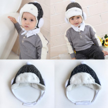 MUQGEW New Fashion 2 Colors Baby Toddler Kids Boy Girl Beautiful Hats Knitted Crochet Beanie Winter Warm Hat Cap Best Gifts(China)