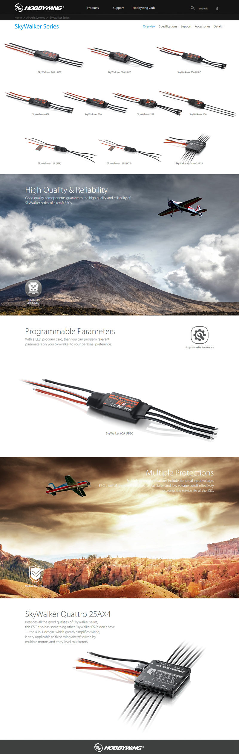 SkyWalker Series_Aircraft Systems_HOBBYWING   Welc_
