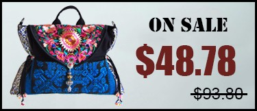 Ethnic Embroidered Bag 12