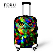 New Design 3D Waterproof Elastic Travel Luggage Cover Tiger Print Protect Suitcase Cover Apply To 18/20/22/24/26/28/30 inch Case