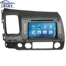 NaviTopia 7inch Car DVD Player For Honda Civic LHD 2006 2007 2008 2009 2010 2011 Car Multimedia With Radio/Bluetooth/GPS/maps(China)