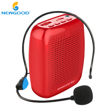 NEWGOOD Speaker Mini Voice Amplifiers Portable Megaphone Voice Amplifier Speaker Loudspeaker For Teachers(China)