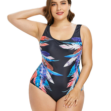 Buy Sexy Plus Size Swimwear Women One Piece Swimsuit May Female Beach Bather 2018 Push Monokini Indoor Swimming Bathing Suit 4XL