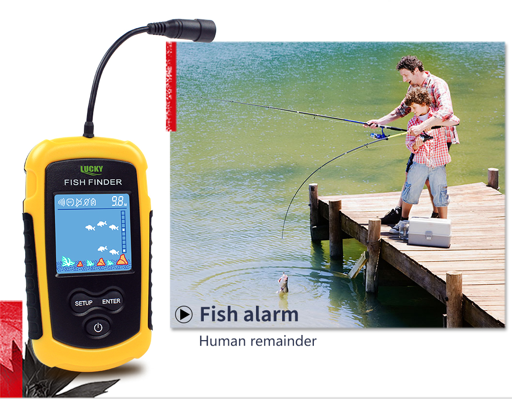 Findfish Wireless Portable Sonar Fish finder (3)