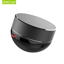 QCY QQ800 wireless bluetooth speaker metal mini portable sound system MP3 music audio player TF card AUX(China)