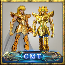 CMT RESTOCK MetalClub Model Leo Aiolia OCE and Normal version Saint Seiya metal armor Myth Cloth Gold Ex2.0 Action Figure(China)