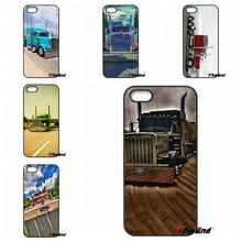 Awesome Peterbilt Trucks Fashion Cell Phone Cases For iPhone 4 4S 5 5C SE 6 6S 7 Plus Galaxy J5 J3 A5 A3 2016 S5 S7 S6 Edge