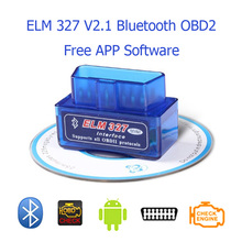 Elm 327 V2.1 Bluetooth OBD2 Smart Scan Tool Eml327 Car Diagnostic Tool Scanner Auto Diagnostic-Tool OBD 2 Adapter For Android