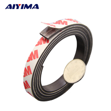 10M Stripe magnets Rubber soft magnet 10*2MM strong magnetic tape for diy Office family school