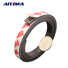 5M Stripe magnets Rubber soft magnet 10*2MM strong magnetic tape for diy Office family school(China)