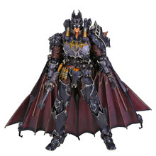 Play Arts KAI Batman Timeless Steam Punk PVC Action Figure Collectible Toy 27cm RETAIL BOX(China)
