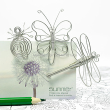 A81 INSECTS SET/3 PAPER/NOTE CLIP PRACTICAL/NOVELTY STAINLESS HAND-MADE ART CRAFTS WEDDING&BIRTHDAY&HOME&OFFICE&GIFT&PRESENT(China)