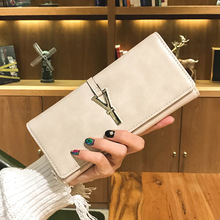 2017 New Women Wallets Female Short gesign Clutch Lady Hasp Leather purses Portomonee Rfid Luxury Brand Money Wallet Coin Purses(China)