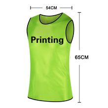 B.BANG Champions League Customized Soccer Group Against Vest Soccer Training Vest Jersey Soccer Training Vest 7 Colors(China)