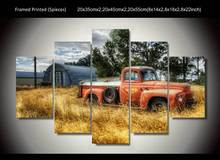 HD Printed 5 pieces Mack Truck Painting room decoration print poster picture canvas Free shipping/up-125