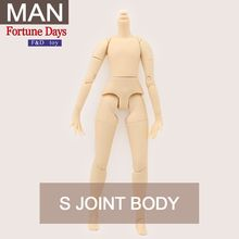 Azone S Fortune Day body 21cm height For my Blyth doll male body with more stable neck Factory Blyth(China)