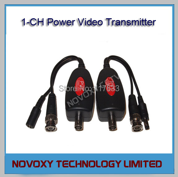 Free Shipping 800M/875yds PVT Balun Video Power Transmitter for CCTV Security Surveillance Use<br><br>Aliexpress