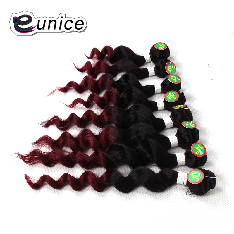 Deep Wave Brazilian Hair 100% Human Weave hair Bundles Weaving  (13)