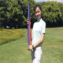 2Pcs Golf Flex Strength Rhythm Practice Whip Swing Trainer Training Aid Wholesale Price(China)