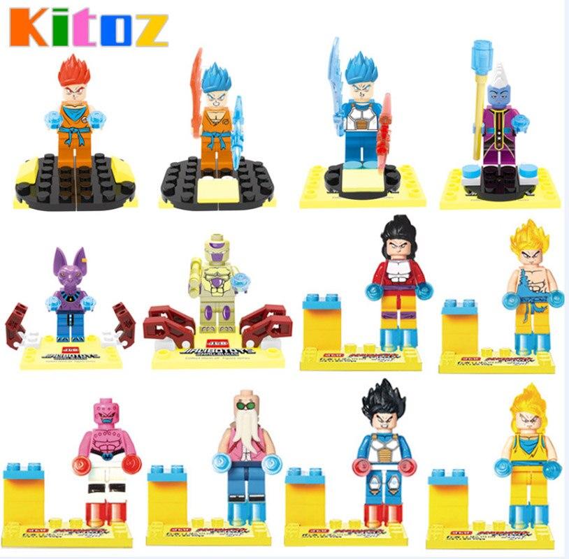 Dragon Ball Lego kompatible Figuren Android 18 Anime Dragon Ball Z Vegeta