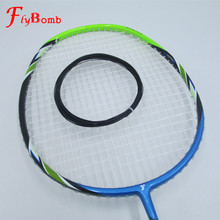 FlyBomb Badminton Line Elastic Durable 0.7mm Use For Badminton Rackets Super Rebound Racquet Bulk 20-23lbs L420