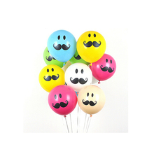 Buy CCINEE 10PC 10inch Moustache Latex Balloons Air Balls Inflatable Wedding Party Decoration Kid Birthday Party Float Balloons Toys for $1.39 in AliExpress store