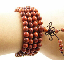 IB2213 Tibetan 108 beads Bodhi seeds Red sandalwood prayer beads mala wholesale ,6mm 7mm 8mm