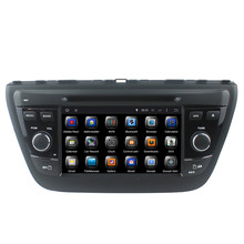 1024*600 For Suzuki SX4 S cross 2014 2 Din Car dvd player Pure Android 6.0 dvd WIFI 3G GPS USB Bluetooth Capacitive screen radio(China)