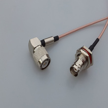 RF TNC male right angle plug Switch BNC Female Jack adaptor RG316 coaxial cable linear Connector(China)