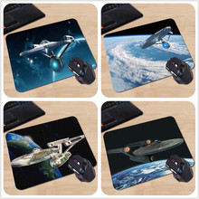 Babaite Top Game Mouse Pad Print PC Computer Gaming Enterprise Star Trek MousePads Computer Gaming Mouse Pad Gamer Play Mats