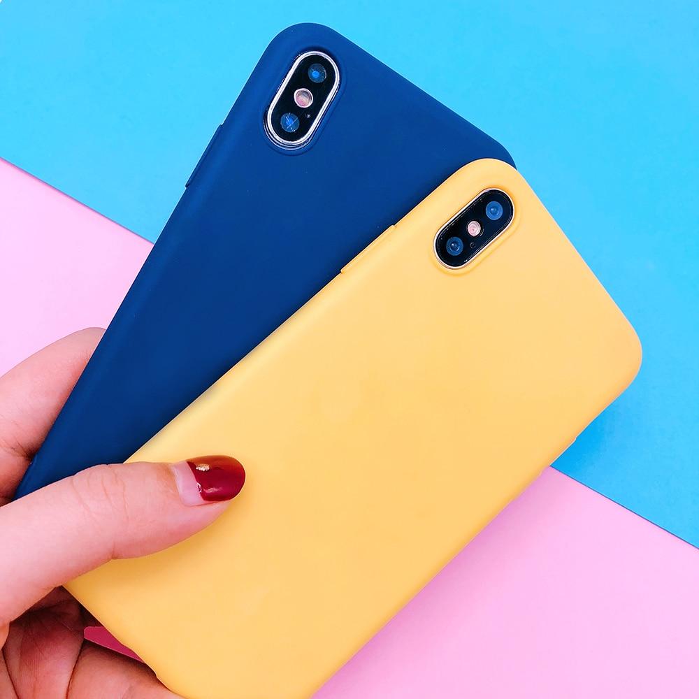 For huawei P20 plus lite P10 P9 lite plus P smart Candy Color soft TPU Case on mate 9 10 pro Nova 2 plus 3e Y9 2018 cover funda (32)