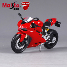 2016 1:12 Scale die cast metal tank 1199 Panigale motorbike race cars mini motorcycle vehicle models office toys gifts for kids