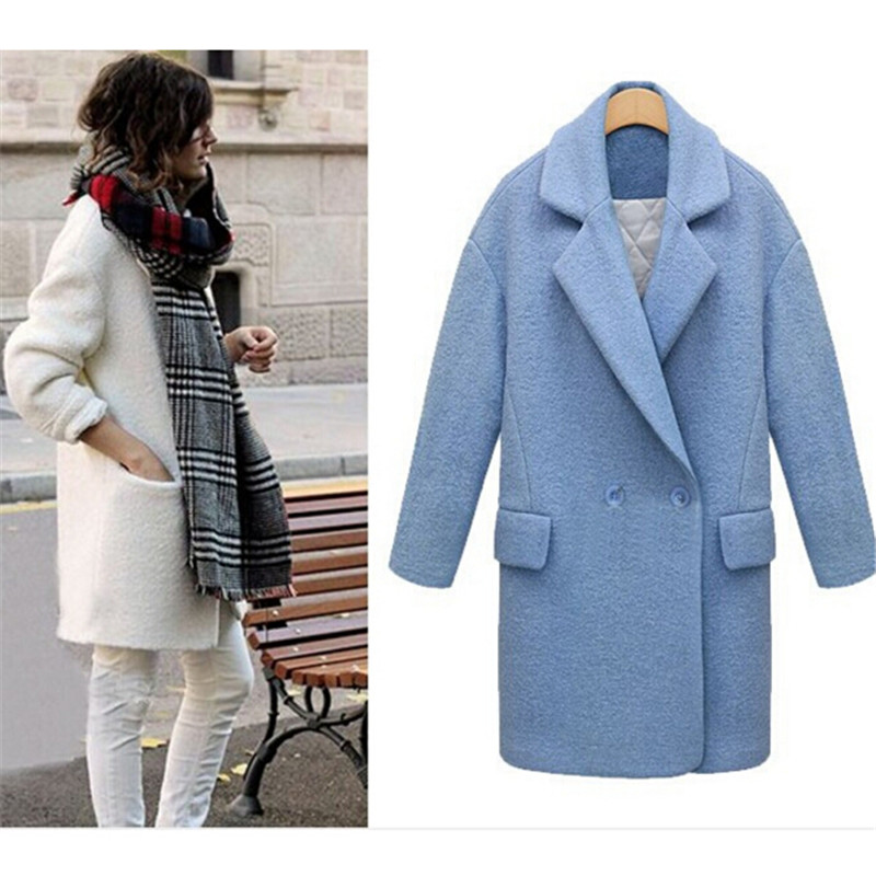 Popular Nibbun Woolen Winter Coat-Buy Cheap Nibbun Woolen Winter ...