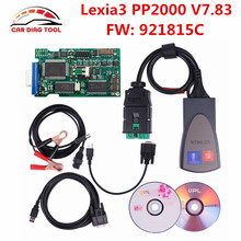 2017 Newest V7.83 Lexia3 Firmware 921815C Lexia-3 PP2000 V48/V25 Lexia 3 Diagbox 7.83 For Citroen For Peugeot Free Shipping