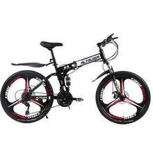 Altruism X9 Pro 24 Inch 21-Speed Steel Mountain Bikes Double Disc Brake Bicycles Mountain Bike Cycling Child's Bicycle