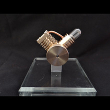 Cool !Miniature Stirling engine 'Small Free man' Stirling engine engine generator model hobby Educational Toy Kits
