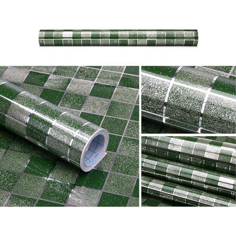 HTB1x9 8PXXXXXcoXpXXq6xXFXXX6 - Waterproof Mosaic Aluminum Foil Self-adhesive Anti Oil Kitchen Wallpaper