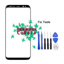 "Buy LOVAIN 1Pcs Original Samsung Galaxy S8+ S8 Plus Edge G955F G955 Front Glass 6.2"" Touch Screen Lens LCD Outer Panel+Tools for $12.98 in AliExpress store"