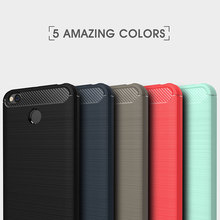 Buy Xiaomi Redmi 4X Case Silicone Soft TPU Brushed Carbon Fiber Texture Xiaomi Redmi 4 X Phone Protective Case Global Version for $2.18 in AliExpress store